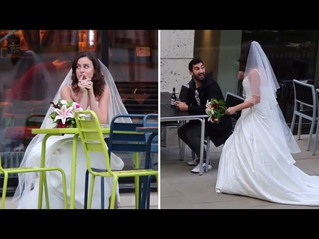 Why This Woman Wore a Wedding Dress To a Bunch of First Dates