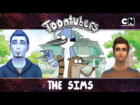 THE SIMS 4: UN REALITY SHOW MÁS (parte 1) | Toontubers | Cartoon Network