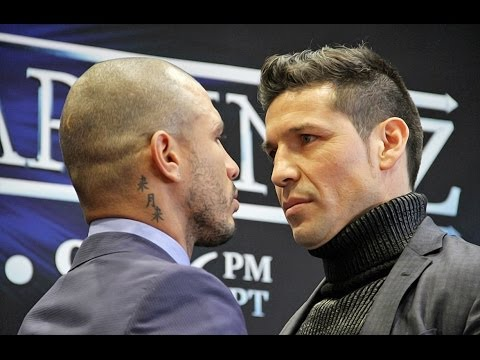 INTENSE FACE-OFF: MIGUEL COTTO VS. SERGIO MARTINEZ New York City Press Conference!