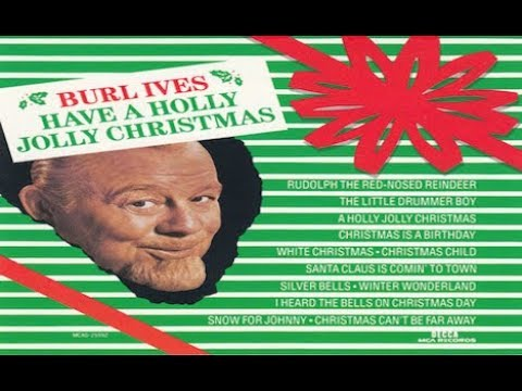 Burl Ives ft Owen Bradley & Orchestra - A Holly Jolly Christmas (MCA Records 1965)