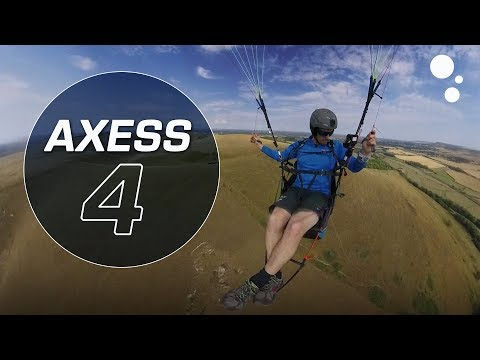 Doing a spiral on the Advance AXESS 4!