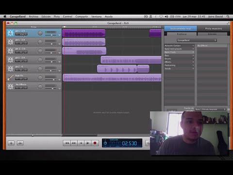 GarageBand y home recording - Grabación de guitarras y bajos