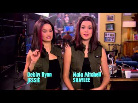 Behind The Scenes With Maia Mitchell - Jessie's Big Break - Jessie - Disney Channel Official video