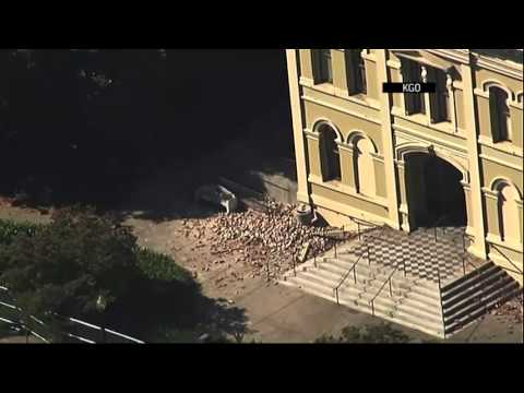Raw: Aerial Look at Napa Quake Damage