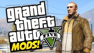 NIKO IS BACK IN TOWN! GTA 5 Mod Showcase Ep 4