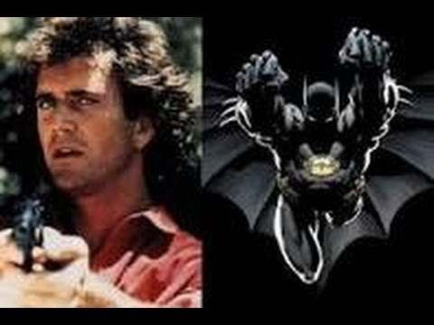 My Thoughts : If Mel Gibson was cast as Batman (1989) ???
