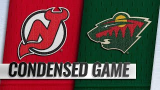 02/15/19 Condensed Game: Devils @ Wild