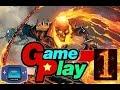 foto game play gost raider GBA cap 1