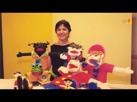 Clique e veja o vídeo Curso a Distância Como Confeccionar Fantoches de Espuma