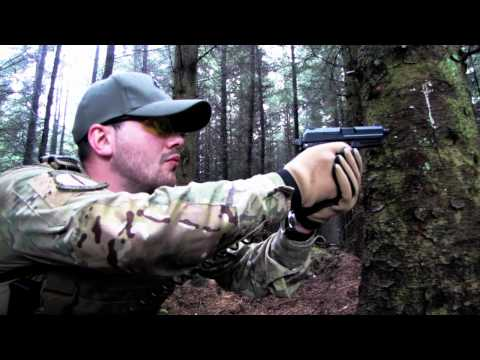 Airsoft War KWA KP8C Pistol in Action Scotland HD