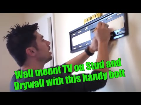 HOW TO HANG TV ON WALL MOUNT REVIEW