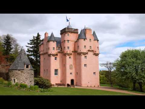 Craigievar Castle Aberdeen Aberdeenshire