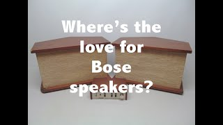 Everyone loves Bose speakers, except audiophiles...