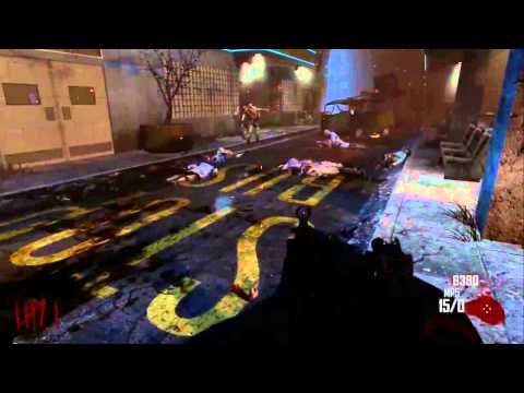 Black Ops 2 - Zombies Mode Gameplay - Green Run (Survival)