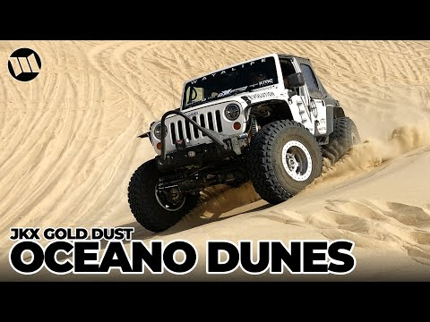 JK Experience GOLD DUST PISMO OCEANO SAND DUNES Jeep Wrangler Off Road Adventure NITTO JKX Part 5