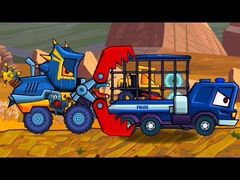 Car Eats Car 3 Машина ест машину Хищные машины #26 битва с машинками как в Drive Ahead #МАШИНКИКИДА