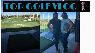 First time at top golf 🏌️ | vlog day