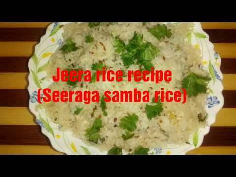Jeera rice in seeraga samba rice || Lunch routine Tamil ||Healthy jeera rice preparation tamil