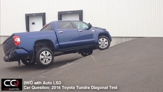 4x4 Test: Toyota tundra 2016-2017 / Diagonal and Auto LSD / A-Trac test!