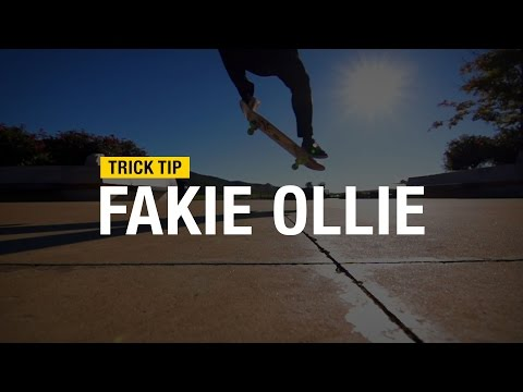 Trick Tips: How to Fakie Ollie with Andrew Cannon
