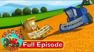Tractor Tom | Season2 | Episode 22 - Two Harvesters | Truck Cartoon
