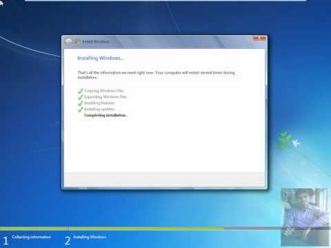 How To Install Windows 7 Operating System (Step By Step Clean Installation.)