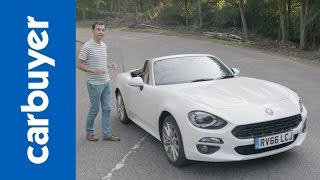 New 2016 Fiat 124 Spider in-depth review – Carbuyer – James Batchelor