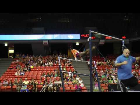 Simone Biles - Uneven Bars - 2012 Secret U.S. Classic