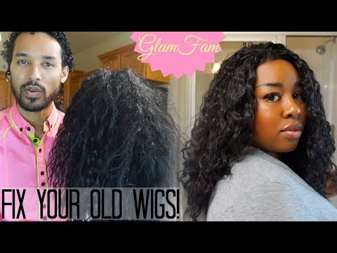 How to Restore a Wavy Synthetic Wig