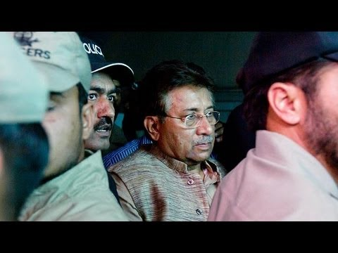 Former Pakistani president Musharraf banned from elections