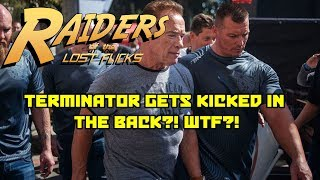 TERMINATOR GETS KICKED IN THE BACK?! WTF?!