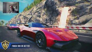 Asphalt 8: Arash R&D, Reaching Champion League, Best Runs 2017 Q1 1:08.838 ST