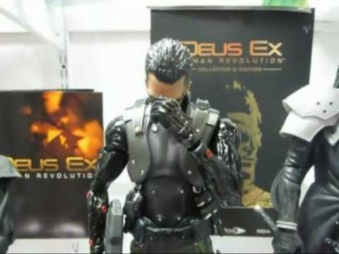 Deus Ex: Human Revolution Collector's Edition Review / Unboxing with Adam Jensen figure