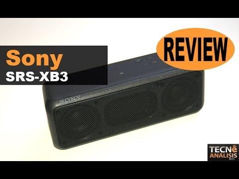 Sony SRS-XB3 review (en español)