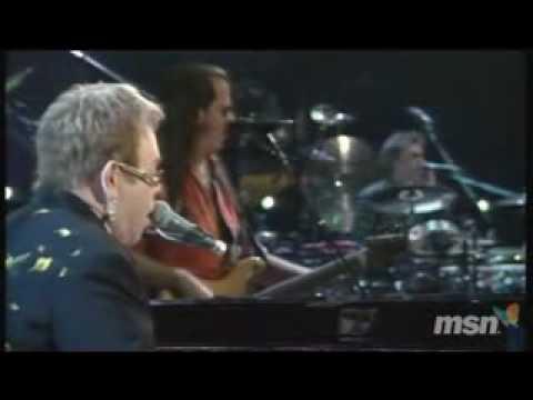 Elton John Empty Garden Live Youtube