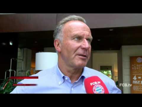 Die FCB News mit Karl-Heinz Rummenigge