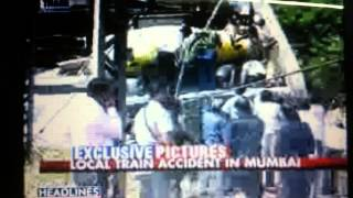 last minute   : 2 dead in Mumbai train accident