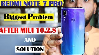 Redmi Note 7 Pro #After Miui 10.2.8#Video Fram#camera lag#48mp#