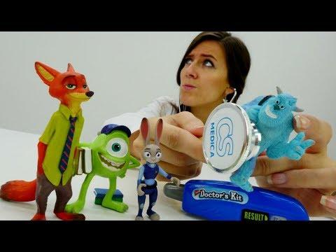 Guardería Infantil el Segundo Turno Zootropolis. Vídeo de juguetes