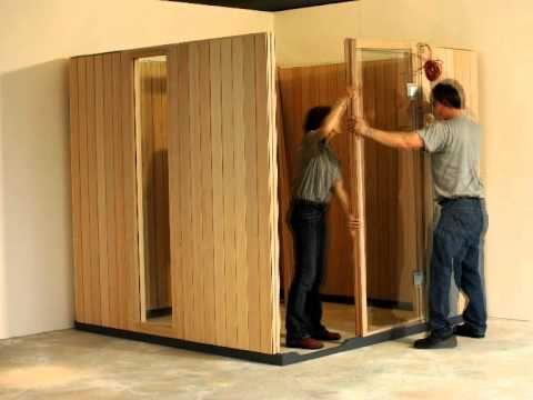 klafs sauna spa wellness aufbau sauna home youtube. Black Bedroom Furniture Sets. Home Design Ideas