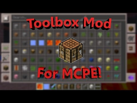 ToolBox Mod for Minecraft Pocket Edition 0.12.1 Review!
