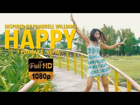Pharrell Williams - HAPPY PARADISE POKHARA (NEPAL) HD