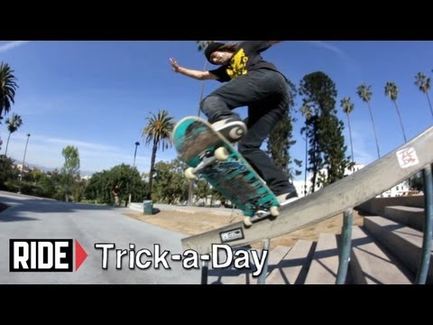 How-To Frontside Noseblunt Slide With Chad Fernandez - Trick-a-Day