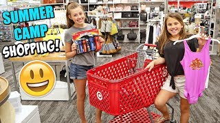 Shopping For Teen SUMMER Camp!