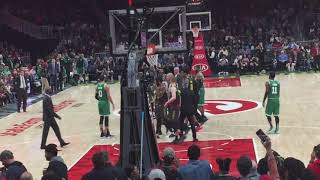 Marcus smart gets ejected vs hawks