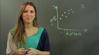 When Do You Use a Scatter Plot Graph? : Math Tutoring