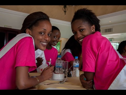 Miss Rwanda 2015: Daily Life in the boot camp for 15 finalists