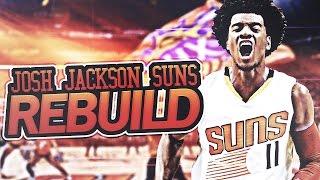 SUPER TEAM IN PHOENIX!! JOSH JACKSON SUNS REBUILD! NBA 2K17