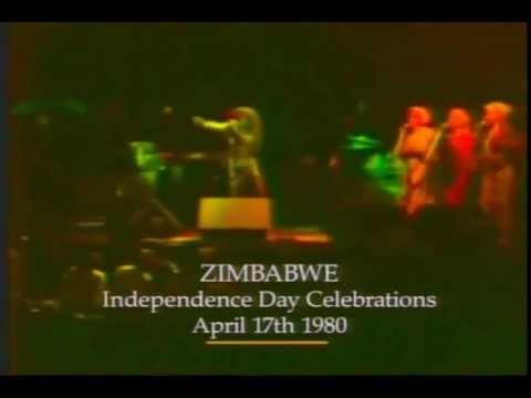 17th April 1980, Zimbabwe independence eve with Bob marley
