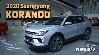 2020 Ssangyong Korando from the World Premiere in Korea (Slotting between Tivoli and Rexton)